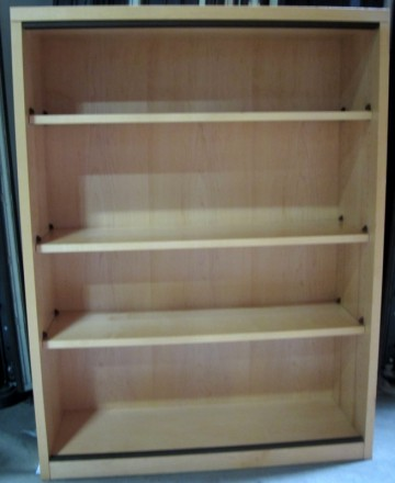 4-Shelf Bookshelf