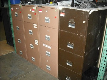 4 Drawer Fireproof Vertical File
