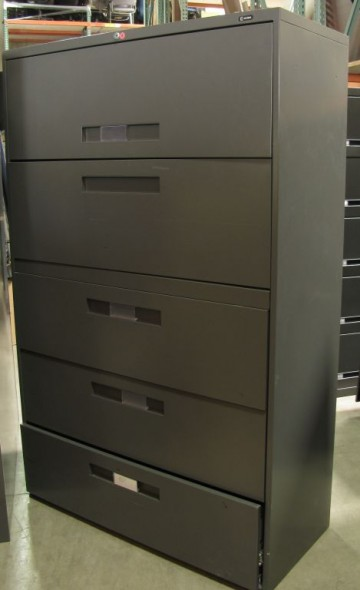 Global 5-Drawer Lateral (Gray)