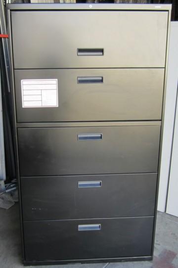 Hon 5 Drawer Flip Door Lateral File