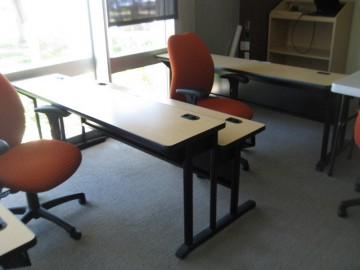 Used Dual Height Training Tables
