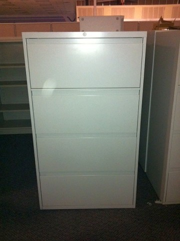 Used Steelcase 4 Drawer Lateral File Cabinets