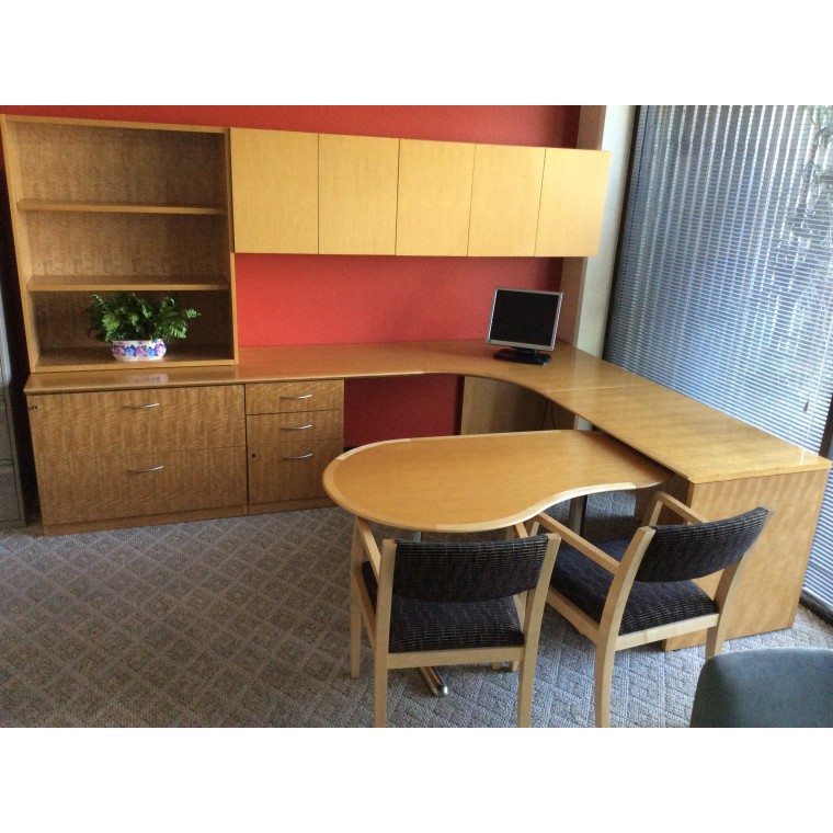 Used Geiger Executive Office Furniture Suites