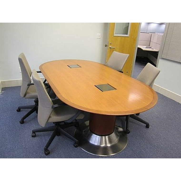 Geiger 7 Racetrack Conference Table Used Tables Used