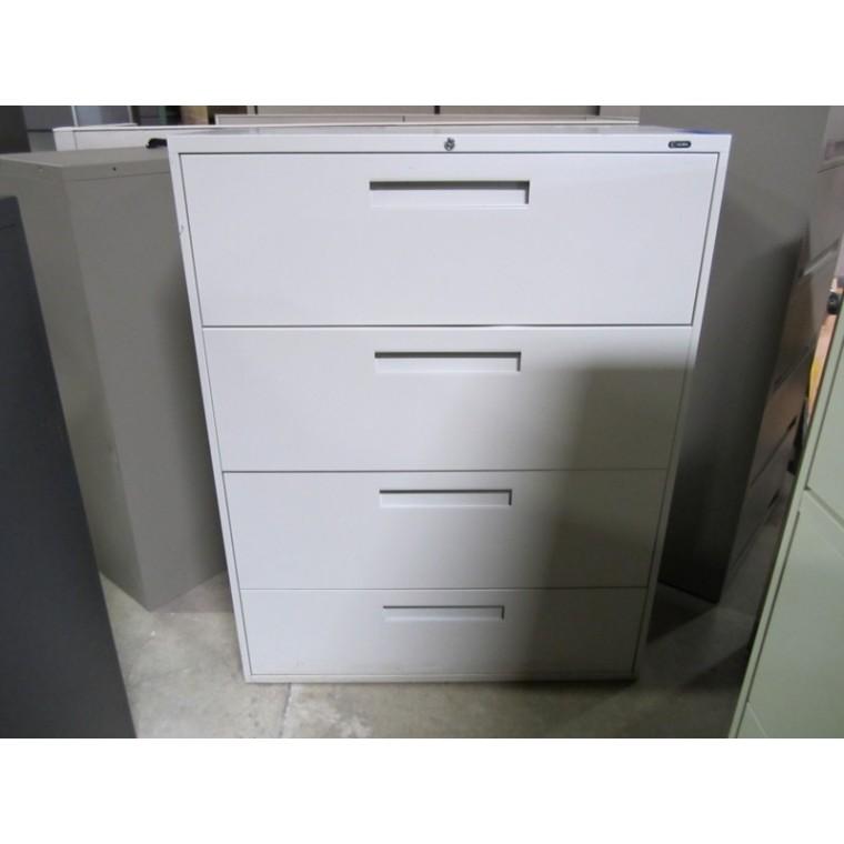 Global 4 Drawer Lateral Used Storage Used
