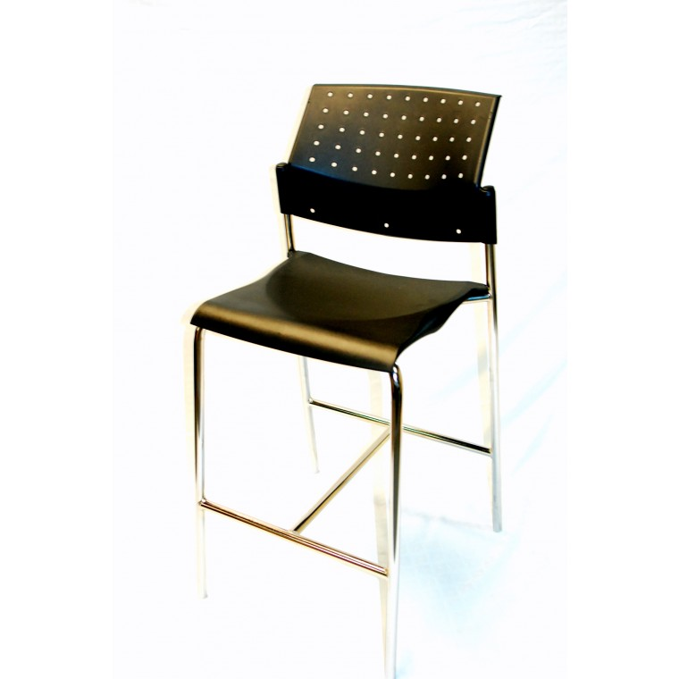 sonic stool by global used seating used. Black Bedroom Furniture Sets. Home Design Ideas