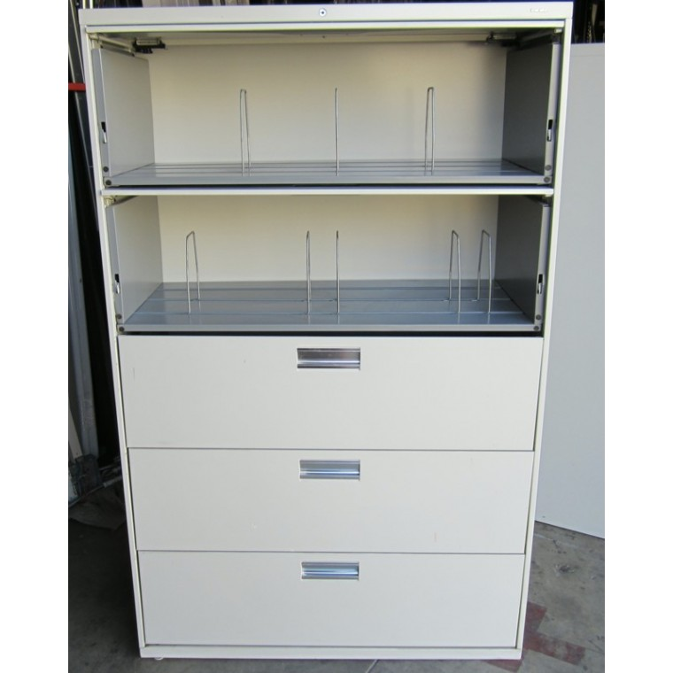 Hon 5 Drawer Flip Door Lateral File Rh Mfcoffice Com Hon 5 Drawer Lateral  File Cabinet 36 Wide Hon 800 Series 5 Drawer Lateral File Cabinet