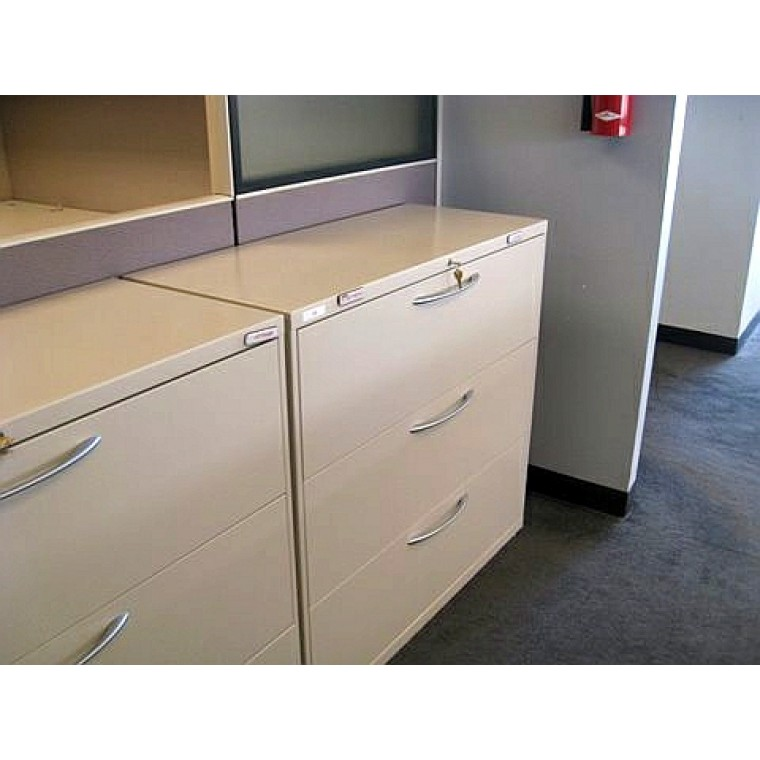 Used Allsteel 2 Drawer Lateral Files Used Storage Used