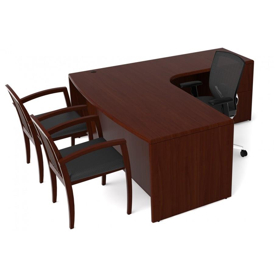 L Shaped Desk Lobink Lshape Desk 360 Bush Furniture