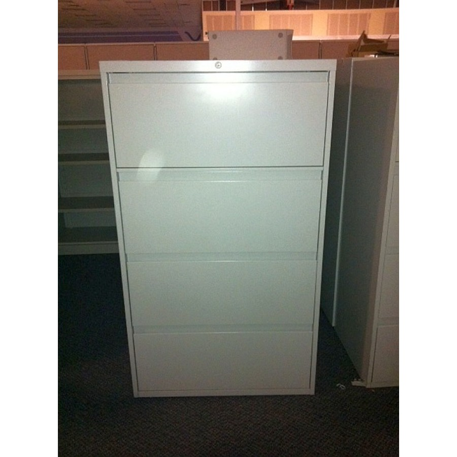 Used Steelcase 4 Drawer Lateral File Cabinets Used