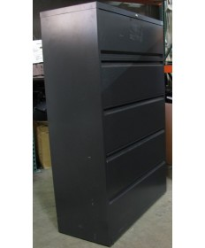 5-Drawer Charcoal Lateral File