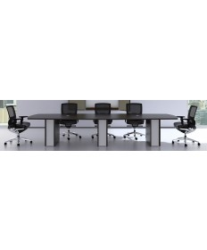 Arced Conference Table