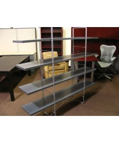 Bookcase with Chrome Frame