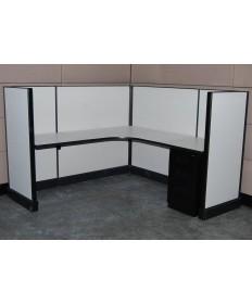 Remanufactured Herman Miller AO2 Workstations