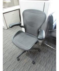Herman Miller Aeron Chair Tuxedo (Size C)