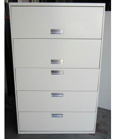 Hon 5 Drawer Flip Door Lateral File
