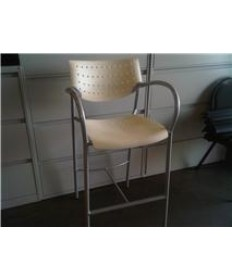 Keilhauer Bar Stool with Arms