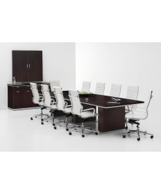 Rectangular and Boat Top Conference Table