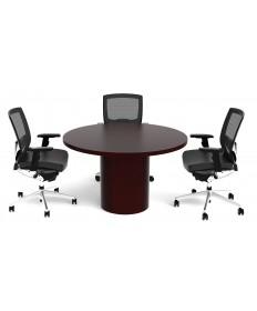 Veneer Round Table