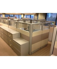 Herman Miller Ethospace with Glass Tiles