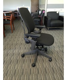 Ergonomic Leap chairs by Steelcase